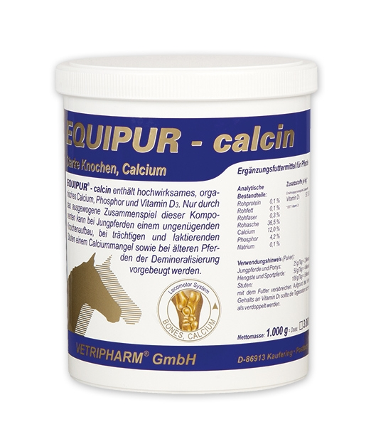 equipur calcin pferd knochen knochenaufbau calcium. Black Bedroom Furniture Sets. Home Design Ideas
